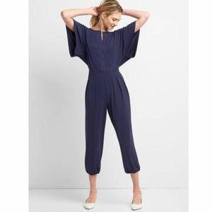 Gap Kimono Sleeve Crop Jumpsuit